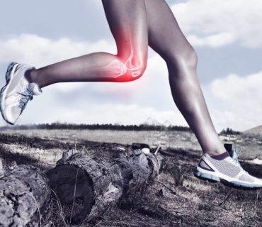 Kolano biegacza - ból zaczerwienienie