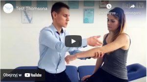 Test Thomsona - film instruktażowy na Youtube